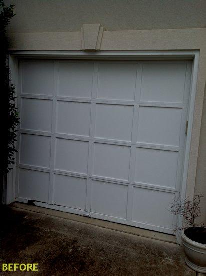 Charlotte Garage Door Gallery Before And After Garage