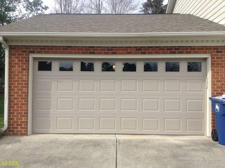 Charlotte Garage Door Gallery Before And After Garage