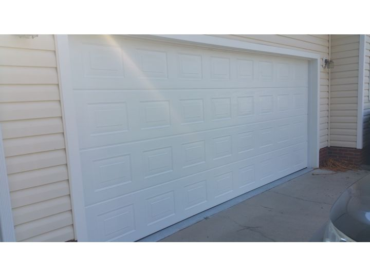 Hormann model 4200 garage door garage door guru charlotte nc for 18x8 garage door
